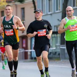 11th Danske Bank Vilnius Marathon - Gediminas Juršenas (3791), Raimundas Kudirka (3816)
