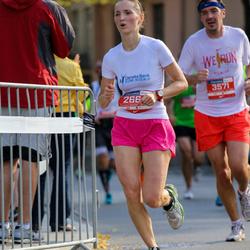 11th Danske Bank Vilnius Marathon - Vaiva Mikeleviciene (2664), Mindaugas Paukšte (3571)