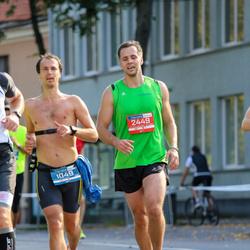 11th Danske Bank Vilnius Marathon - Matiss Eglitis (1049), Žygimantas Lakavicius (2449)