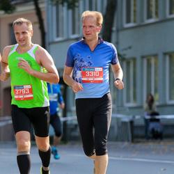 11th Danske Bank Vilnius Marathon - Darius Peciura (3310), Gediminas Latvys (3793)
