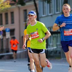 11th Danske Bank Vilnius Marathon - Adas Stasiunas (3335), Artur Dmitrijev (3778)