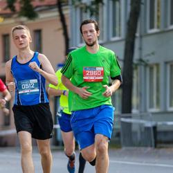 11th Danske Bank Vilnius Marathon - Sergejs Maslobojevs (512), Mindaugas Stankevicius (2960)