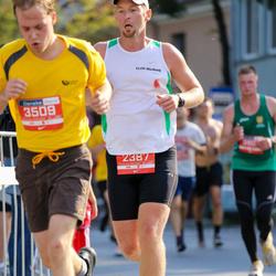 11th Danske Bank Vilnius Marathon - Maciej Reinke (2387), Vytautas Oškinis (3509)