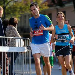 11th Danske Bank Vilnius Marathon - Ausrine Ward (375), Viktor Mažeiko (2875)