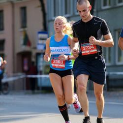 11th Danske Bank Vilnius Marathon - Ieva Šukyte (3563), Mantas Valasinavicius (3734)