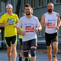 11th Danske Bank Vilnius Marathon - Kestutis Dagys (470), Egmontas Kalinauskas (2268), Gediminas Karveckas (2786)