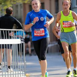 11th Danske Bank Vilnius Marathon - Rasa Bacanskiene (2182), Juozas Songaila (2834)