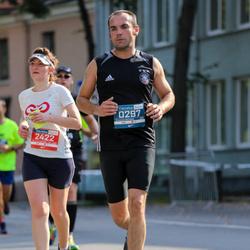 11th Danske Bank Vilnius Marathon - Michael Wilczek (297), Lina Ragauskaite (2422)