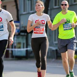 11th Danske Bank Vilnius Marathon - Tadas Korsakas (424), Indre Montvilaite (2428)