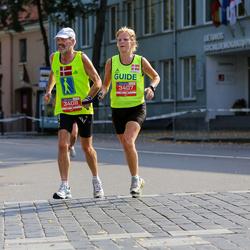 11th Danske Bank Vilnius Marathon - Ulla Christensen (3407), Hans Struer (3408)