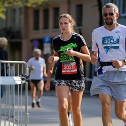 11th Danske Bank Vilnius Marathon - Gediminas Kinderis (45), Marija Kinderyte (2029)