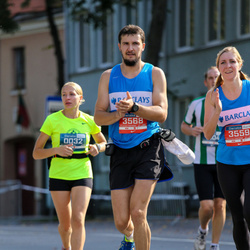 11th Danske Bank Vilnius Marathon - Vaida Priedininkaite (32), Dovile Vaicikonyte (3559), Edgar Deduchov (3568)