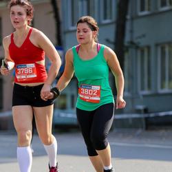11th Danske Bank Vilnius Marathon - Greta Žiliute (3796), Marija Povilionyte (3802)