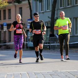 11th Danske Bank Vilnius Marathon - Inga Jovaišaite (2105), Redas Perminas (2162), Andrius Karaliunas (3545)