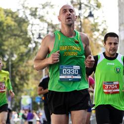 11th Danske Bank Vilnius Marathon - Saulius Litvinavicius (330), Andrius Petkevicius (3704)