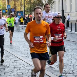 11th Danske Bank Vilnius Marathon - Arunas Kucinskas (3655), Daivis Urba (3952)