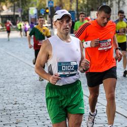 11th Danske Bank Vilnius Marathon - Arvydas Jurgelevicius (102), Vaidas Rakštelis (3834)
