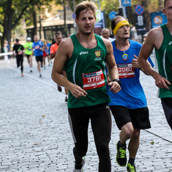 11th Danske Bank Vilnius Marathon - Egidijus Šalkauskis (2080), Audrius Šileris (3781)