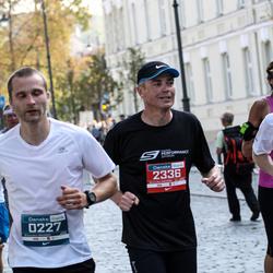 11th Danske Bank Vilnius Marathon - Mindaugas Eidukaitis (227), Claudius Bergler (2336)