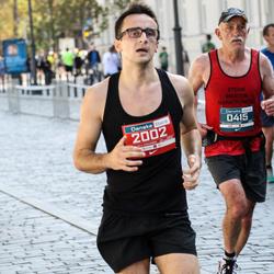 11th Danske Bank Vilnius Marathon - Steve Parker (415), Eidminas Zaksas (2002)