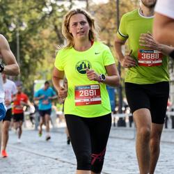 11th Danske Bank Vilnius Marathon - Ekaterina Bashkatova (2691), Arvydas Blože (3688)