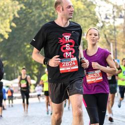 11th Danske Bank Vilnius Marathon - Davide Franciosa (2824), Neringa Guobyte (3433)
