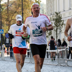 11th Danske Bank Vilnius Marathon - Romas Kiršys (110), Audrius Burkauskas (3097)
