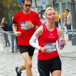 11th Danske Bank Vilnius Marathon - Algirdas Bartkevicius (5092), Ramune Kunigelyte (5628)
