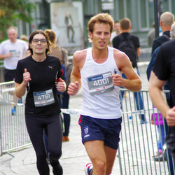 11th Danske Bank Vilnius Marathon - Andrius Cernauskas (4001), Vaidas Augustinavicius (4761)