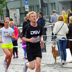 11th Danske Bank Vilnius Marathon - Vitalija Papinigyte (5901), Justinas Jovaiša (6771)