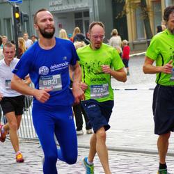 11th Danske Bank Vilnius Marathon - Daivaras Šulskis (5750), Saulius Storpištis (6821)