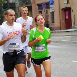 11th Danske Bank Vilnius Marathon - Marco Rosello (5770), Vaida Bytautaite (6294)