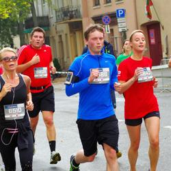 11th Danske Bank Vilnius Marathon - Kristina Lipnickaite (4842), Šarunas Gerve (6486), Vaiva Sanajeviene (6510), Juozas Lapienis (6826)