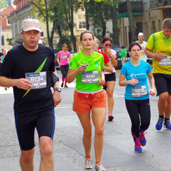 11th Danske Bank Vilnius Marathon - Kristina Karnickaite (4141), Vaidas Kalpokas (6134)