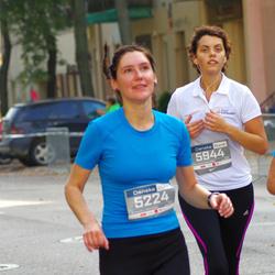 11th Danske Bank Vilnius Marathon - Dovile Lažinskiene (5224), Gytaute Paseckaite-Kibickiene (5944)