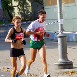 11th Danske Bank Vilnius Marathon - Žydrunas Alekna (3195), Milda Vilcinskaite (3884)