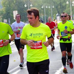 11th Danske Bank Vilnius Marathon - Nedas Kardelis (1232), Saulius Jarmalis (2871)