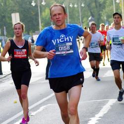 11th Danske Bank Vilnius Marathon - Giedrius Povilavicius (158), Salla Korpivaara (3490)