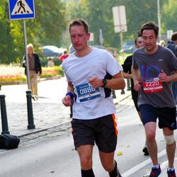 11th Danske Bank Vilnius Marathon - Nerijus Velavicius (886), Matthew Green (2220)