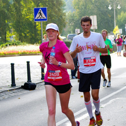 11th Danske Bank Vilnius Marathon - Dominika Szpakowska (2409), Rytis Tamulenas (2714)