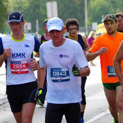 11th Danske Bank Vilnius Marathon - Genadijus Makuševas (843), Vladas Mankevicius (2654)