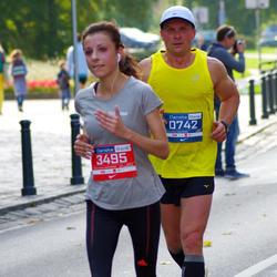 11th Danske Bank Vilnius Marathon - Darius Jasevicius (742), Viktorija Buslovic (3495)
