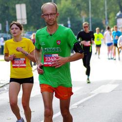 11th Danske Bank Vilnius Marathon - Tomas Gulbinas (3348), Viktorija Stonyte (3639)