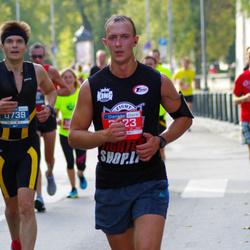 11th Danske Bank Vilnius Marathon - Vladimias Seliavko (739), Gintaras Borcakas (3723)