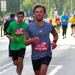 11th Danske Bank Vilnius Marathon - Gediminas Bimba (3551), Edvinas Grišinas (3632)