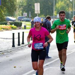 11th Danske Bank Vilnius Marathon - Iza Gajewska (530), Gediminas Bimba (3551)