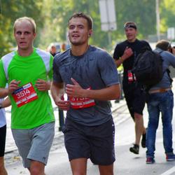 11th Danske Bank Vilnius Marathon - Linas Mileška (3514), Mantas Gaidjurgis (3735)