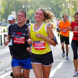 11th Danske Bank Vilnius Marathon - Audrone Radzeviciene (2360), Edvinas Miskinis (2405)
