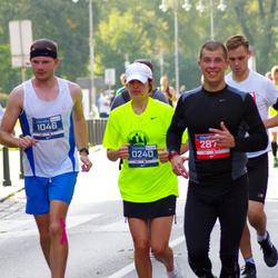 11th Danske Bank Vilnius Marathon - Ramune Bobinaite (240), Daniel Mackowski (1046), Olegas Ivanovas (2873)