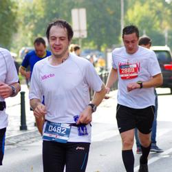 11th Danske Bank Vilnius Marathon - Mantas Gudelionis (482), Viktoras Lukaševicius (2889)